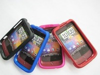 Rubber hard case for HTC Wildfire G8 A3333