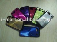 Shining Aluminium Skin Crystal Case Cover for HTC Desire z