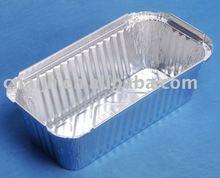 disposable aluminum loaf pan