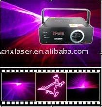 200mw animation red &purple laser light show