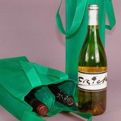 2bottles non woven wine carrier bag