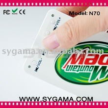 2011 card mp3 player for promotion