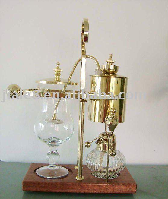 Balance vacuum coffee maker