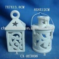 Porcelain Candle Holder-porcelain candle house