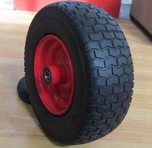 Pu foam rubber solid wheel barrow wheels