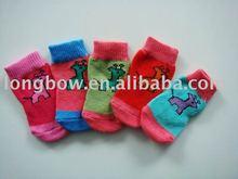 Hot sale Pet products dog sock pet shoe for wholesale