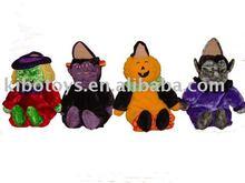 Plush halloween toy / stuffed halloween toy/ halloween cat