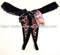 crotchless women's underwear