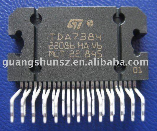 TDA7384 аудио усилителя