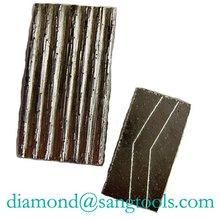Diamond segment for granite marble concrete asphalt