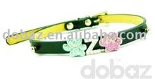 Dog collars with slider charms