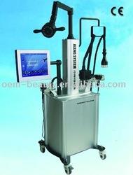 2011 NEW Super body reshaping Ultrasonic cavitation slimming machine combine of vacuum,fat rotating sytem,heat rate test system