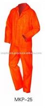 PVC splash protection workwear