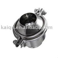 sanitary welded no return check valve