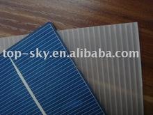 Broken solar cell from Topsky