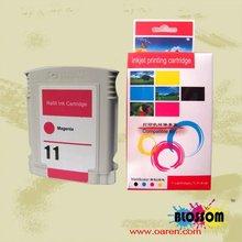 printer ink cartridge for HP 11 Magenta C4837A refillable printer inkjet