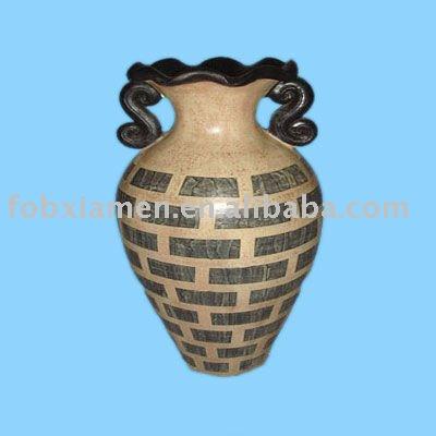 En terre cuite vase antique