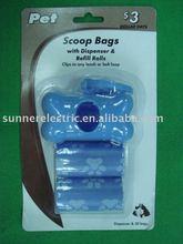 plastic dog poop bag