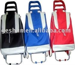 600D fashion shopping trolley bag