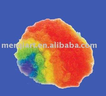 Hot Rainbow Clown Wig-Halloween Fun Giveaways Party Favor