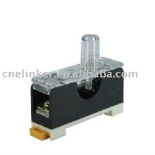 Switch cabinet or Distribution JHY1 Fuse Rail Mounting Terminal Blocks