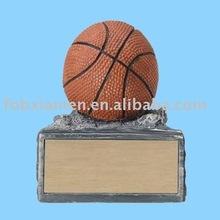 resin basketball decor