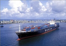 Glass Product Ocean Freight Service fm Dalian to Genov,Italy