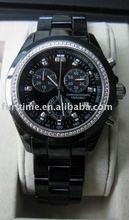 swiss quartz luxury ceramic watches, High quality design
