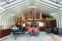 Pitch Roof Model Metal Garage