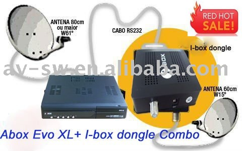 ... Satellite Receiver > Decoder nagra3(N3) Azbox evo xl combo with I-box
