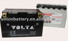 Dry charged motorcycle battery YTX7A-BS