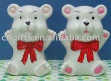 ceramic cruet set animal salt and pepper shaker gift