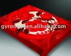 100% polyester plush blanket 3-10kg