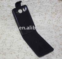 Flip Leather Case for HTC desire HD