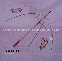 [SMP013] Promotional PVC Transparent Umbrella