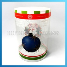 plastic Clear PVC round box