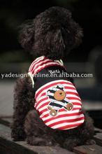 LHSS003 hot sale popular Lovely dog garment;pet coat 2011