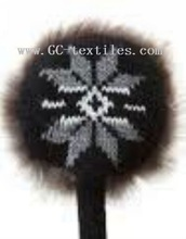 fahion jacque ear muff w/fake fur
