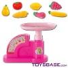Kitchen set balance with fruit