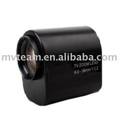 6-36mm motorized zoom lens