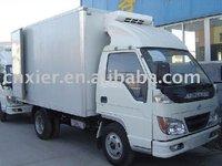 Dry Cargo Box Van Truck