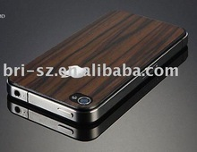Wood Skin Guard /back screen protector for iPhone4