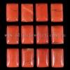 C150 Red River Jasper Puffy Rectangle Cabochon semi-precious jewelry