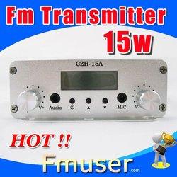 15FSN low power fm transmitter 15w radio transmisor fm CZH-15A