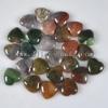 C172 fashion India Agate Puffy Heart Cabochon semi-precious gemstone