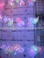 Led cortina de luz