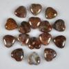 C199 Pietersite Gemstone Puffy Heart Cabochon semi-precious gemstone