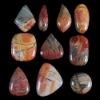C240 Multi-Color Picasso Jasper Cabochon CAB semi-precious gemstone