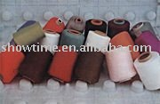 polyester spun yarn 20S for socks/100% polyester spun yarn