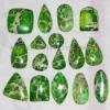 C247 Green Sea Sediment Jasper Cabochon CAB semi-precious gemstone